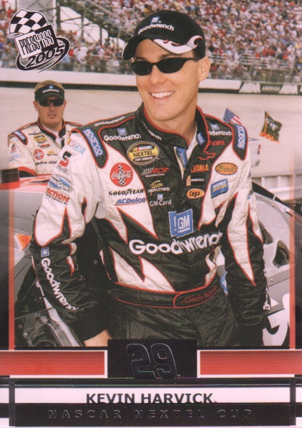 2005 Press Pass #21 Kevin Harvick
