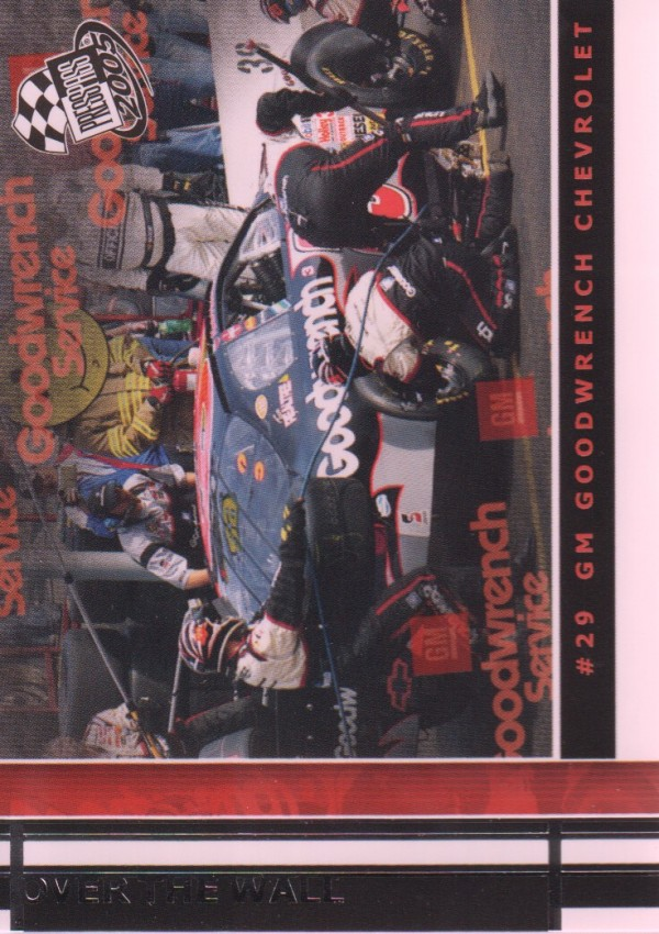 2005 Press Pass #70 Kevin Harvick's Car OTW