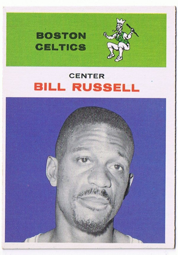 1961-62 Fleer #38 Bill Russell !