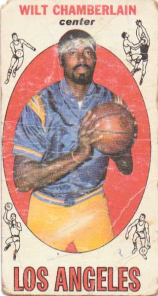 1969-70 Topps #1 Wilt Chamberlain