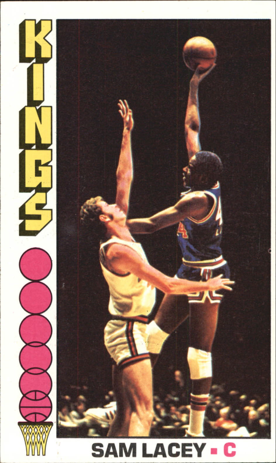 1976-77 Topps #67 Sam Lacey
