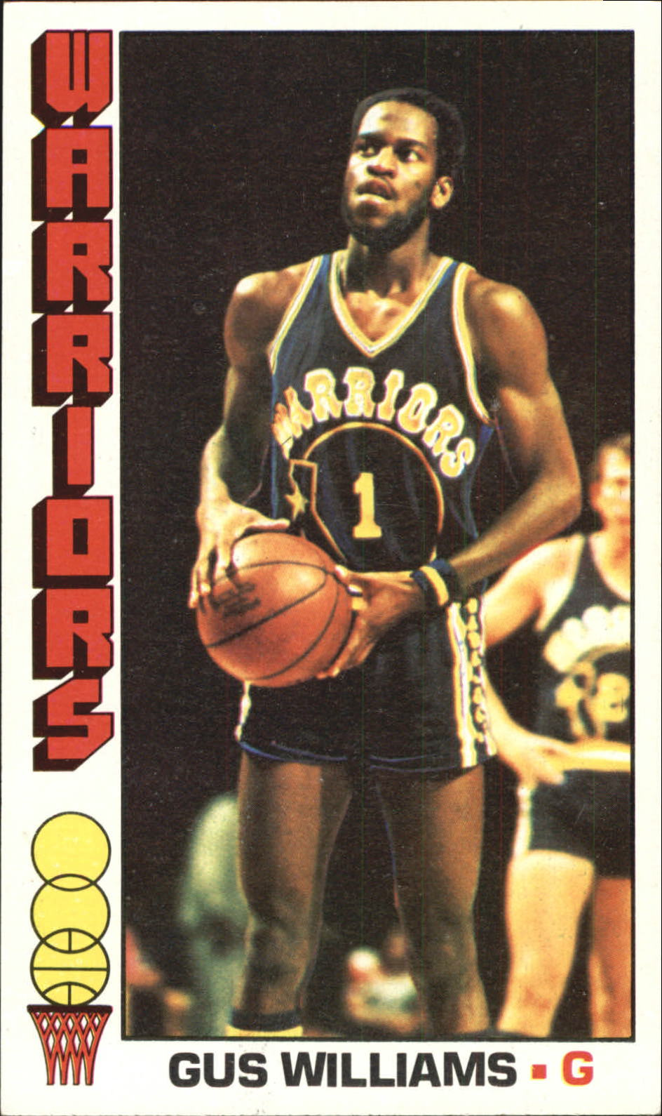 1976-77 Topps #69 Gus Williams RC