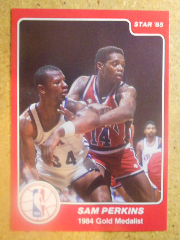 1984-85 Star #197 Sam Perkins OLY