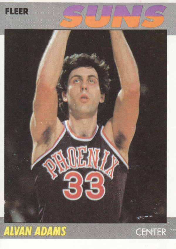 1987-88 Fleer #2 Alvan Adams