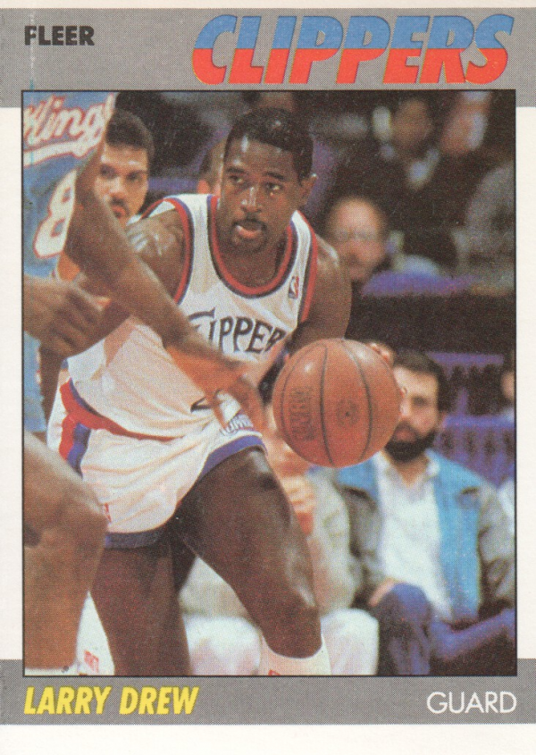 1987-88 Fleer #29 Larry Drew