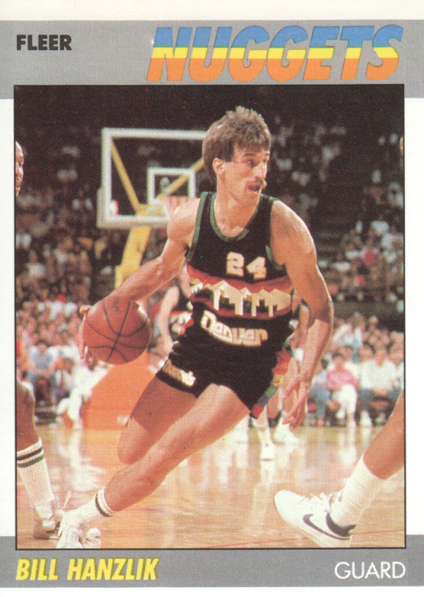 1987-88 Fleer #47 Bill Hanzlik