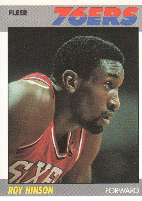1987-88 Fleer #51 Roy Hinson