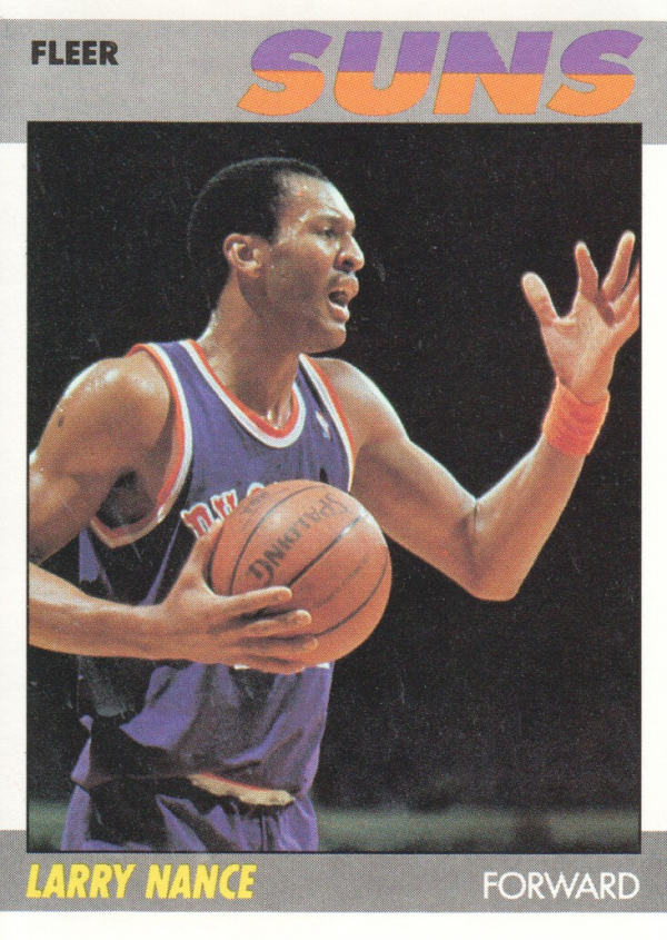 1987-88 Fleer #78 Larry Nance