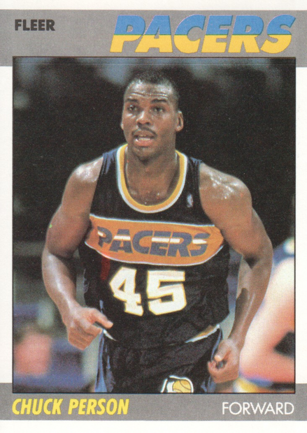 1987-88 Fleer #85 Chuck Person RC