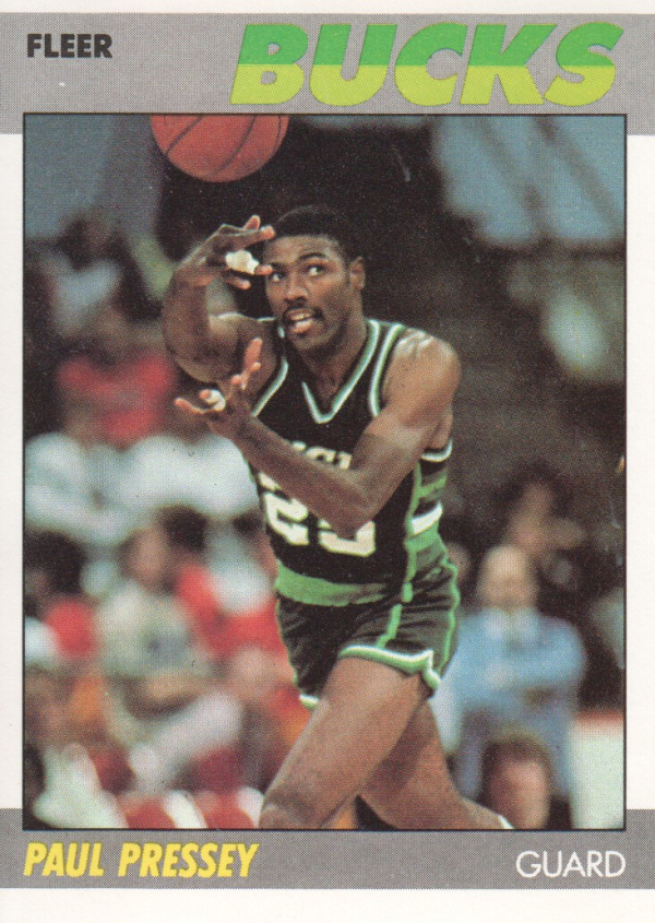 1987-88 Fleer #90 Paul Pressey