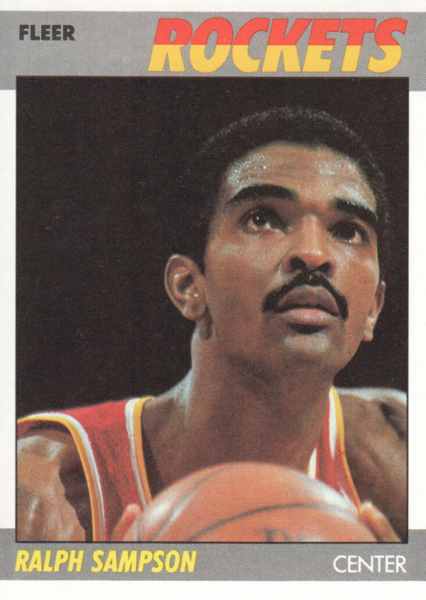 1987-88 Fleer #95 Ralph Sampson