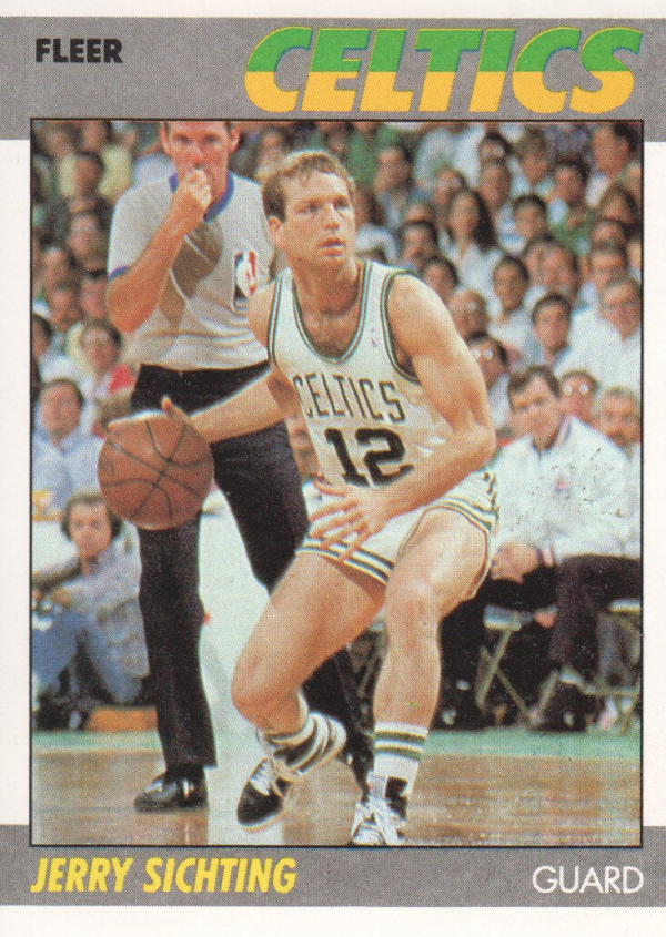 1987-88 Fleer #99 Jerry Sichting