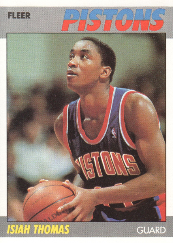 1987-88 Fleer #106 Isiah Thomas