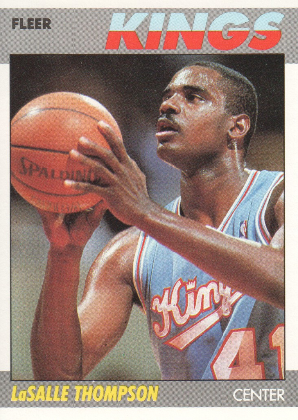 1987-88 Fleer #107 LaSalle Thompson