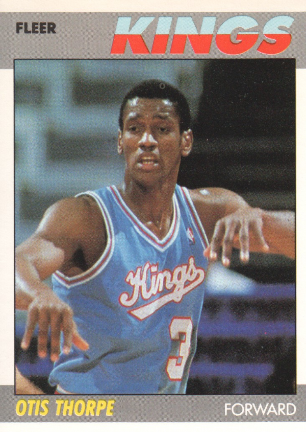 1987-88 Fleer #109 Otis Thorpe RC