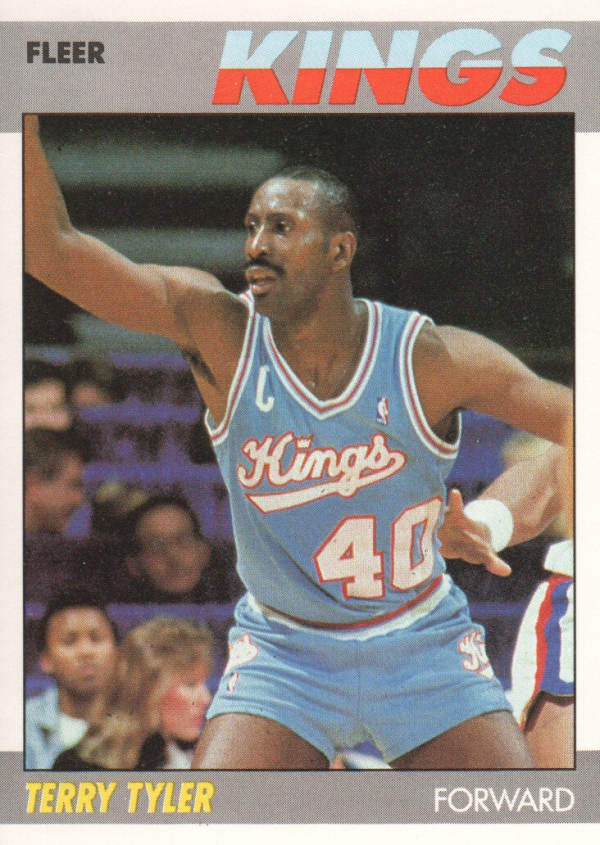 1987-88 Fleer #114 Terry Tyler