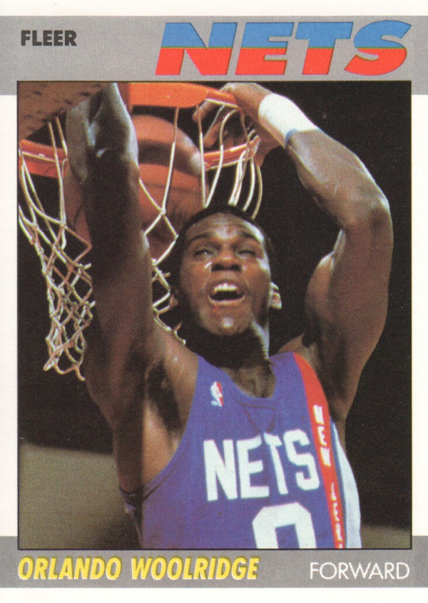 1987-88 Fleer #129 Orlando Woolridge