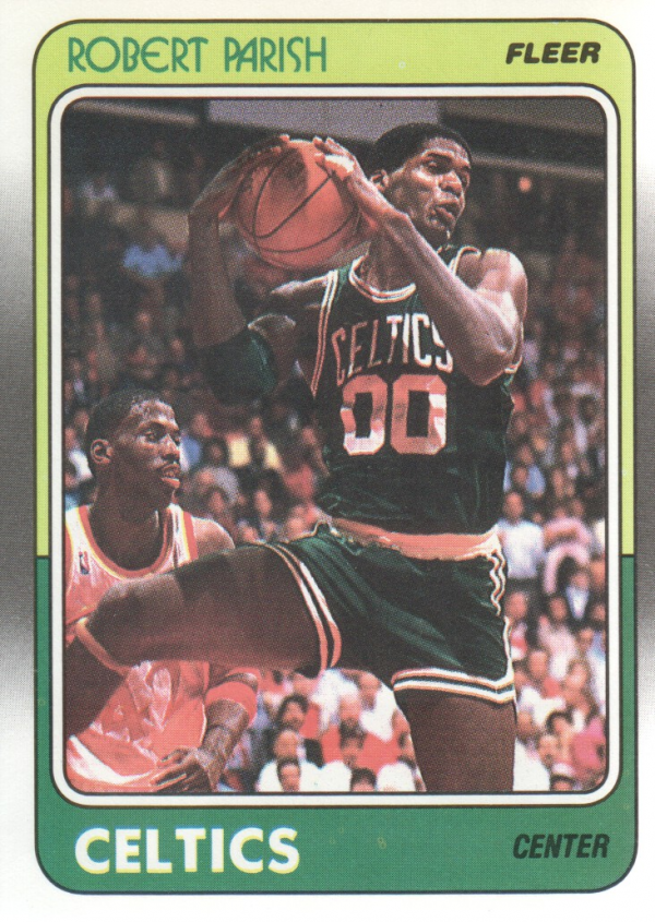 1988-89 Fleer #12 Robert Parish
