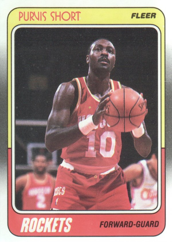 1988-89 Fleer #54 Purvis Short