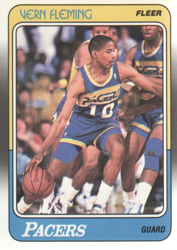 1988-89 Fleer #55 Vern Fleming