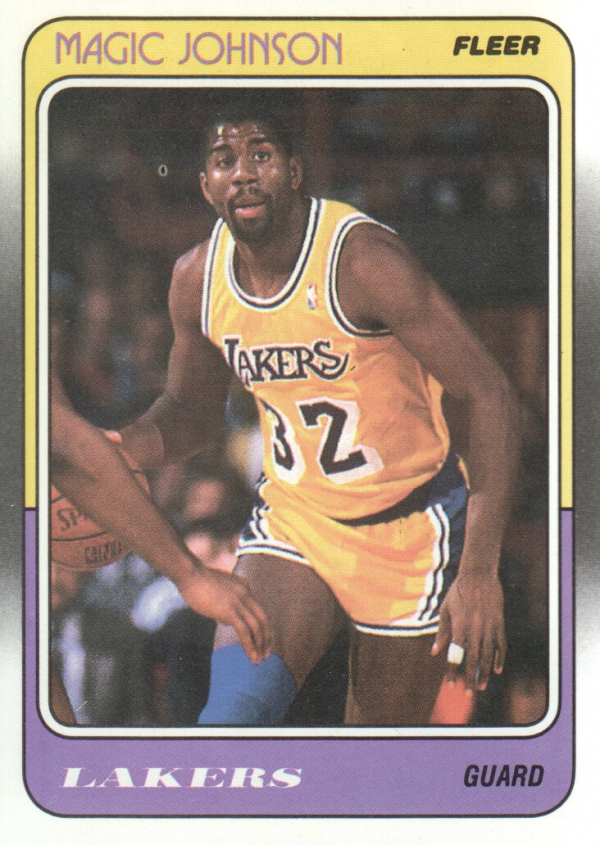 1988-89 Fleer #67 Magic Johnson