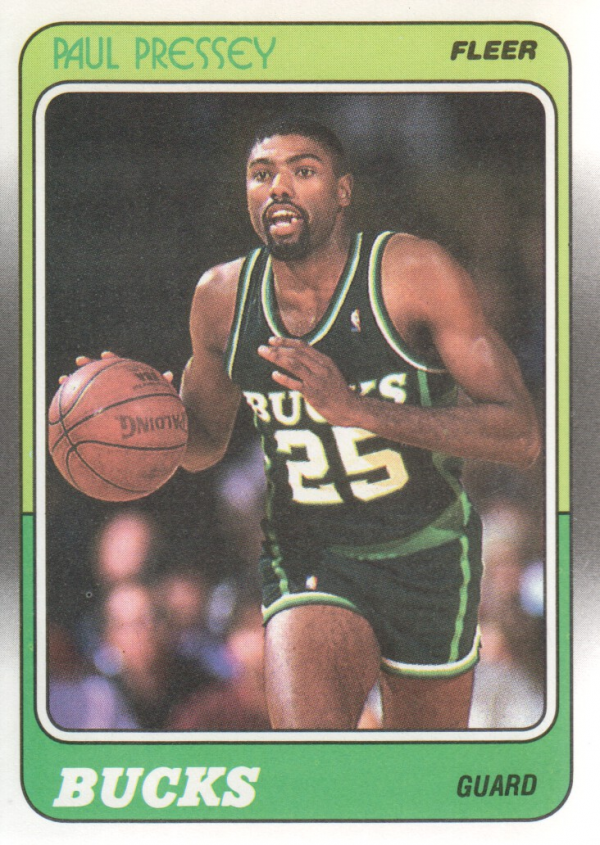 1988-89 Fleer #75 Paul Pressey