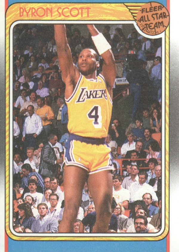 1988-89 Fleer #122 Byron Scott AS