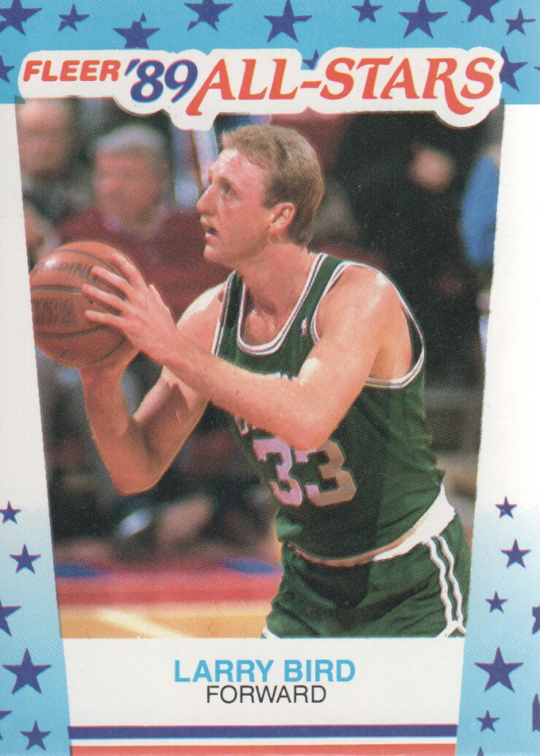 1989-90 Fleer Stickers #10 Larry Bird