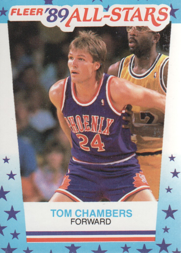 1989-90 Fleer Stickers #11 Tom Chambers