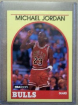 1990 Hoops 100 Superstars #12 Michael Jordan