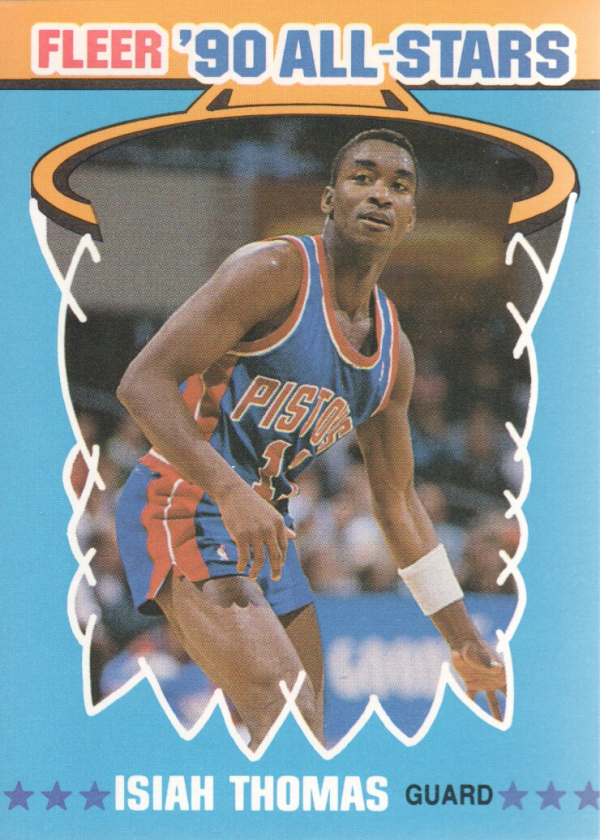1990-91 Fleer All-Stars #6 Isiah Thomas