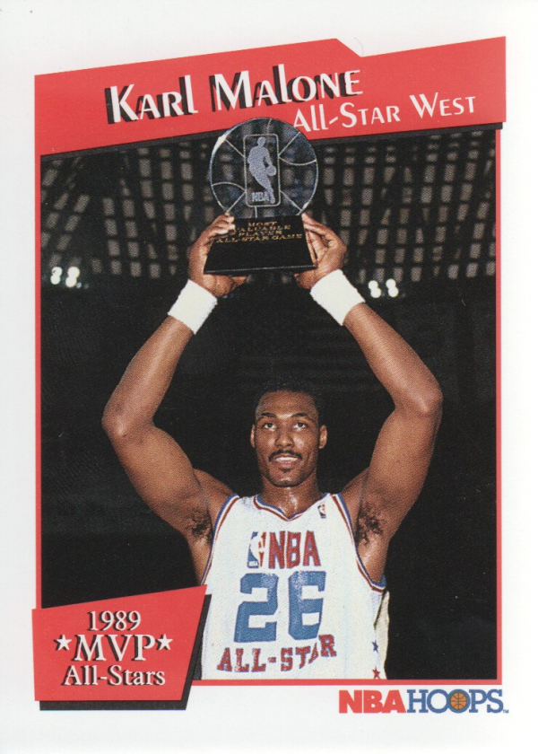 1991-92 Hoops All-Star MVP's #10 Karl Malone