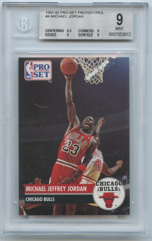 1991-92 Pro Set Prototypes #4 Michael Jordan