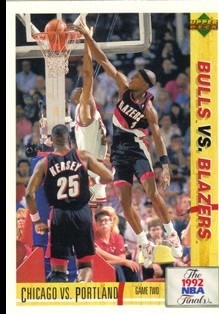 1991-92 Upper Deck International Italian #173 Clifford Robinson FIN