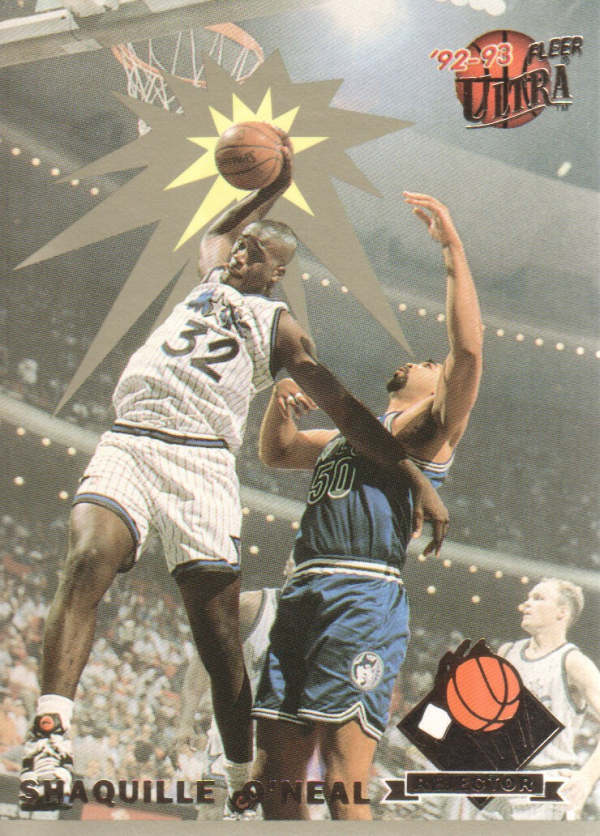 1992-93 Ultra Rejectors #4 Shaquille O'Neal