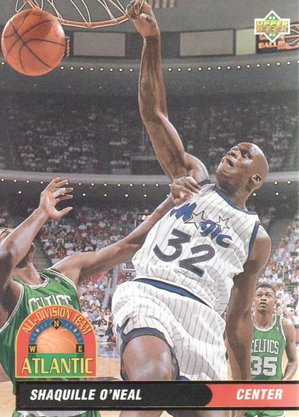 1992-93 Upper Deck All-Division #AD1 Shaquille O'Neal
