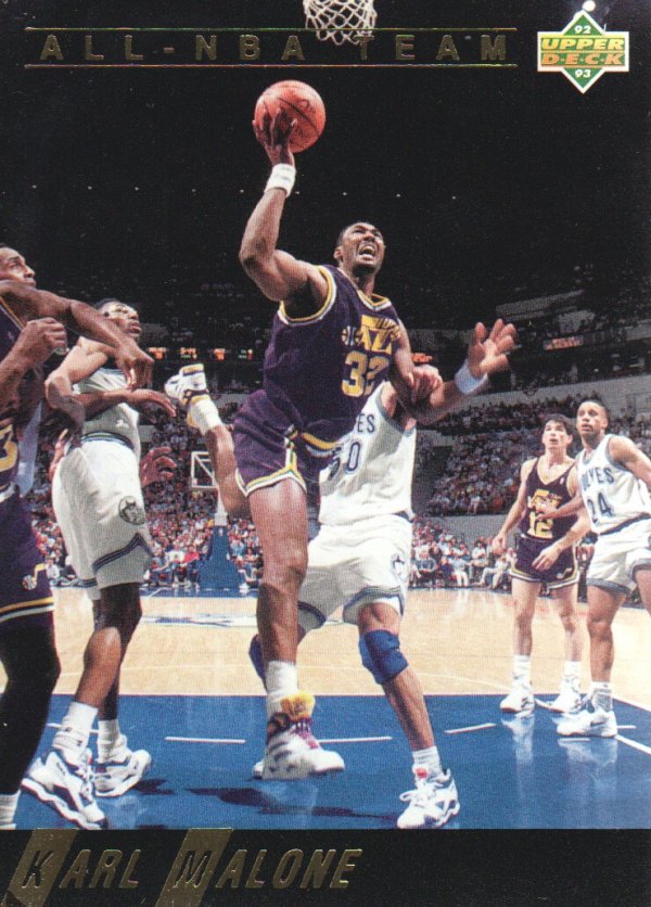 1992-93 Upper Deck All-NBA #AN4 Karl Malone