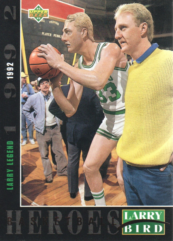 1992-93 Upper Deck Larry Bird Heroes #26 Larry Bird/Larry Legend