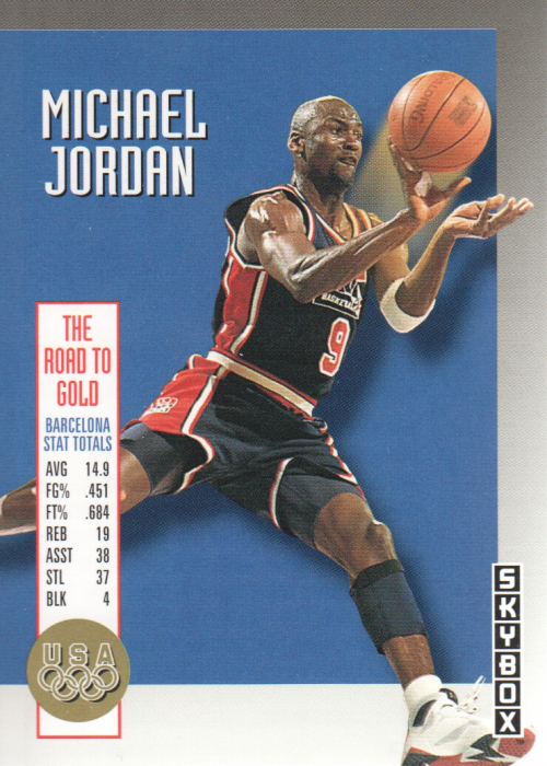 1992-93 SkyBox Olympic Team #USA11 Michael Jordan