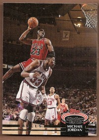 1992-93 Stadium Club #1 Michael Jordan