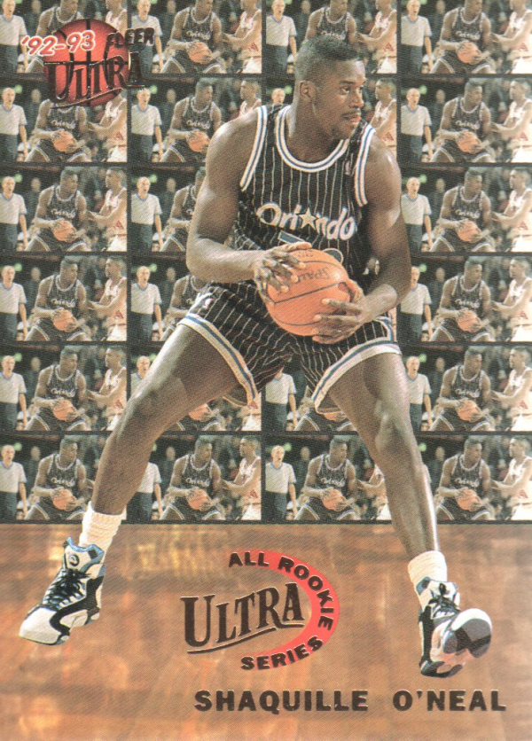 1992-93 Ultra All-Rookies #7 Shaquille O'Neal
