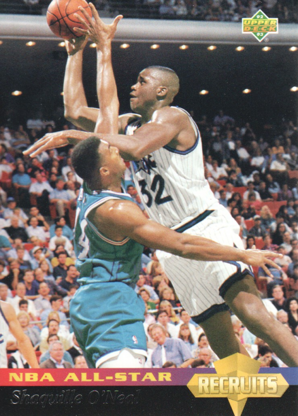 1992-93 Upper Deck All-Star Weekend #34 Shaquille O'Neal