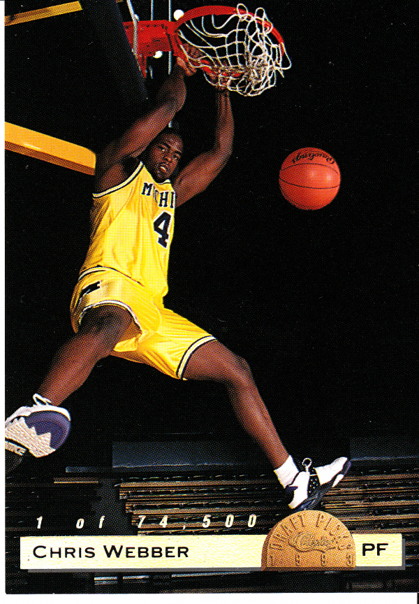 1993 Classic LPs #LP1 Chris Webber