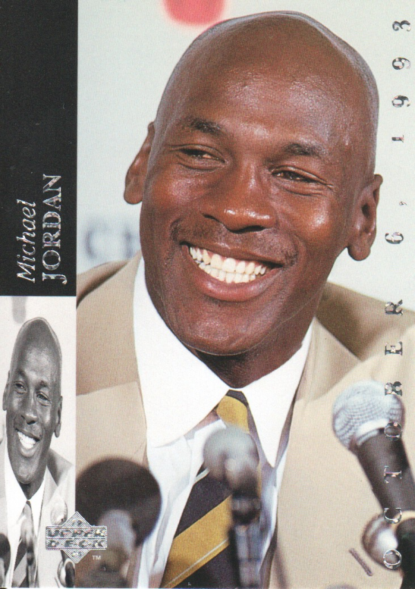 1993-94 Upper Deck SE #MJR1 M.Jordan Retirement