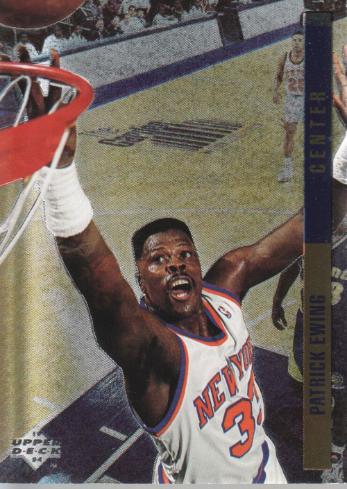 1993-94 Upper Deck SE Behind the Glass #G2 Patrick Ewing