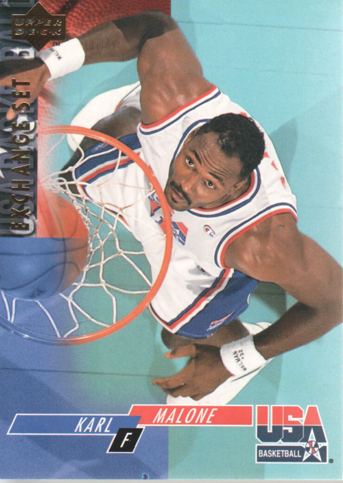 1993-94 Upper Deck SE USA Trade #7 Karl Malone