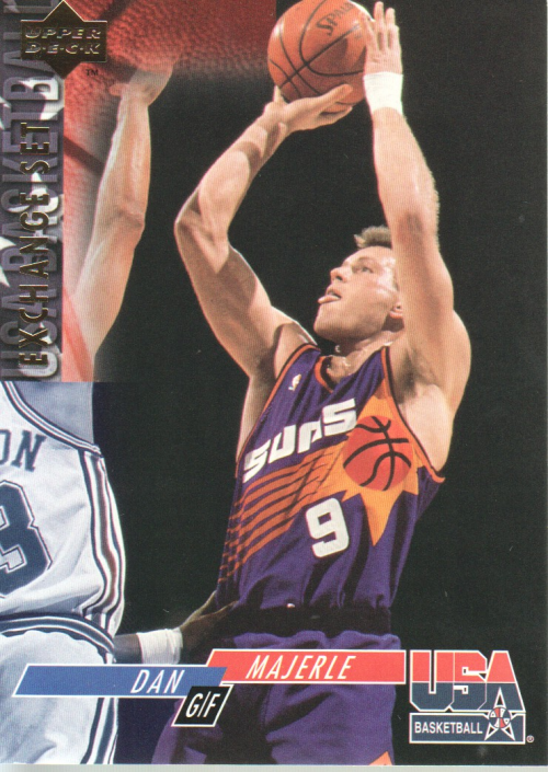 1993-94 Upper Deck SE USA Trade #14 Dan Majerle