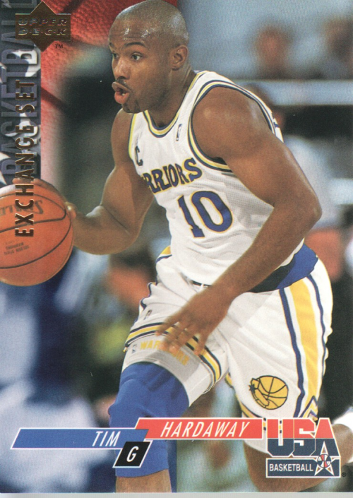 1993-94 Upper Deck SE USA Trade #19 Tim Hardaway
