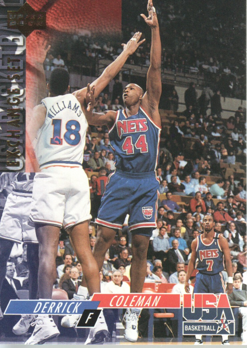 1993-94 Upper Deck SE USA Trade #22 Derrick Coleman