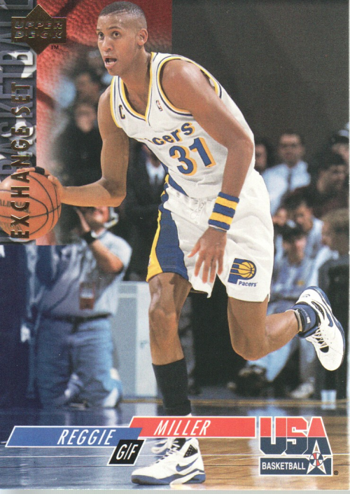 1993-94 Upper Deck SE USA Trade #23 Reggie Miller